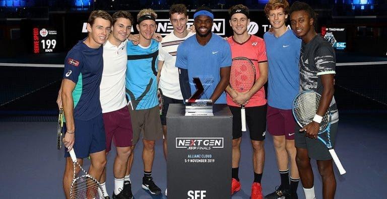 Quem será o primeiro NextGen a ganhar um Grand Slam? De Minaur revela a sua aposta