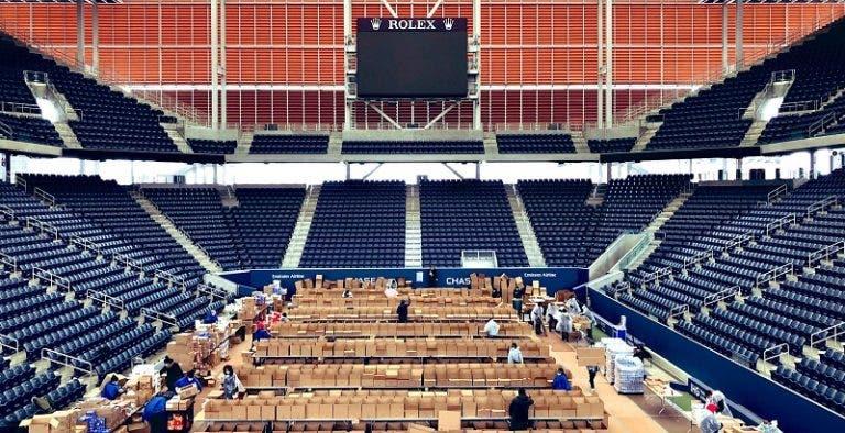 [FOTOS] Assim está o palco do US Open em tempos de combate ao covid-19
