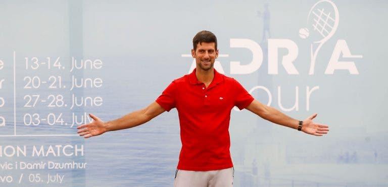 Treinador de Federer: «Adria Tour não foi uma má ideia»