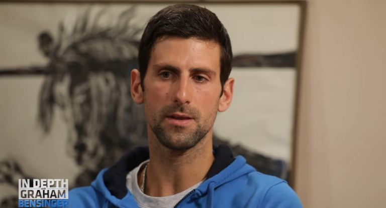 Djokovic responde às críticas com mensagem enigmática de um padre