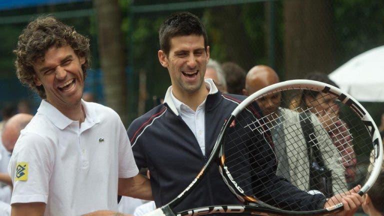 Djokovic dá mérito a Gustavo Kuerten sobre o seu regresso ao topo