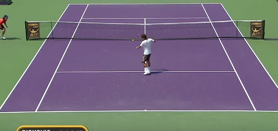 [VÍDEO] Da raquete partida de Federer a Nadal irritado com Kyrgios: 10 momentos que deixaram os fãs chocados