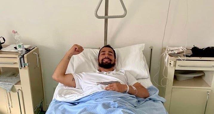 Fabio Fognini operado com sucesso aos dois tornozelos