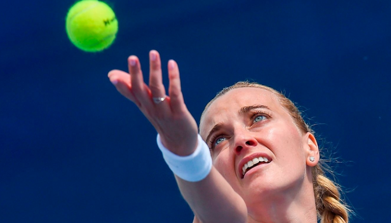 Kvitova e Muchova na final de torneio na República Checa