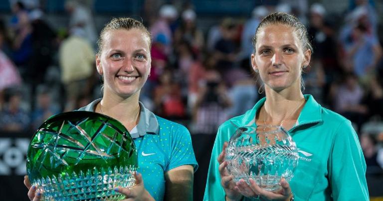 Pliskova e Kvitova voltam a competir ainda este mês