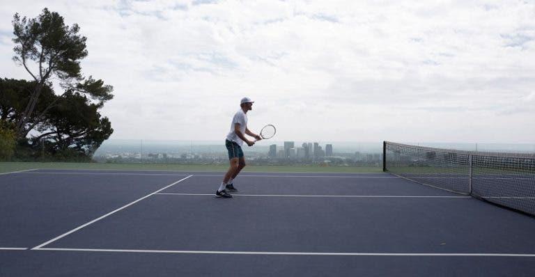 Opelka tem-se treinado em courts privados mas admite: «É irritante não saber quando recomeçar»