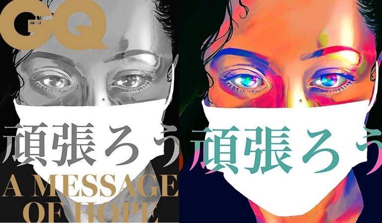 Naomi Osaka faz capa da 'GQ Japão' desenhada… pela irmã