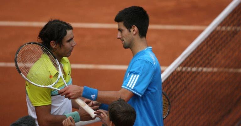 [VÍDEO] Épico: há 11 anos, Nadal e Djokovic jogaram um dos seus melhores encontros
