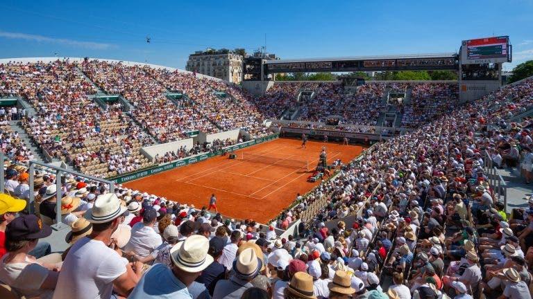 Roland Garros revela data para início da venda de bilhetes