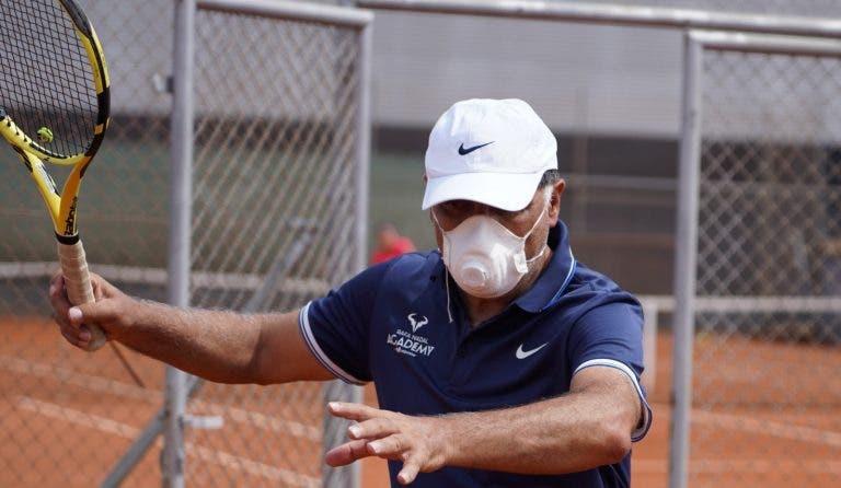 Toni Nadal: «O mundo do ténis vive uma situação extraordinária»