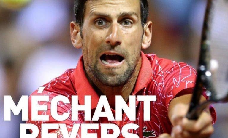 Djokovic faz capa do 'L'Equipe' pelo segundo dia seguido