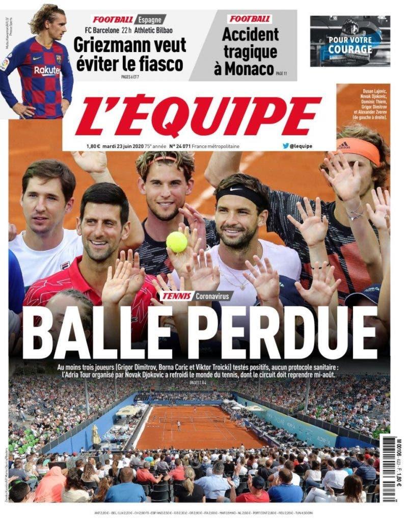Caso Adria Tour faz primeira página num dos maiores jornais do Mundo