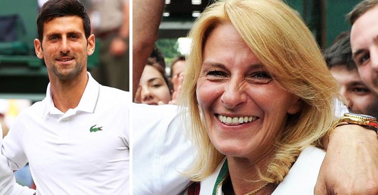 Mãe de Djokovic ao ataque: «Estavam todos ansiosos por arrasar o meu filho, estamos habituados»