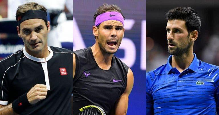 Big Three está CONTRA o US Open realizado em condições especiais
