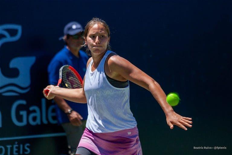 Francisca Jorge luta muito mas cai na segunda ronda do Oeiras Ladies Open