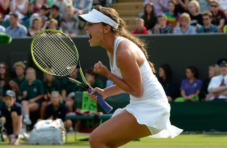 Há 7 anos, Michelle Larcher de Brito fez HISTÓRIA ao vencer Sharapova em Wimbledon