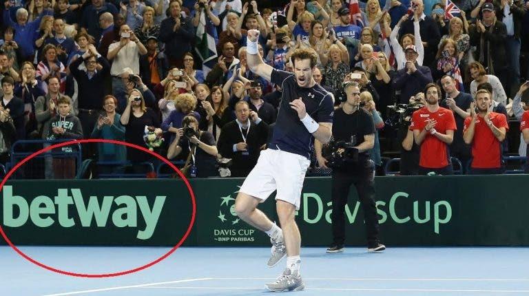 Casas de apostas 'ajudam' tenistas a voltar ao court em tempos de crise