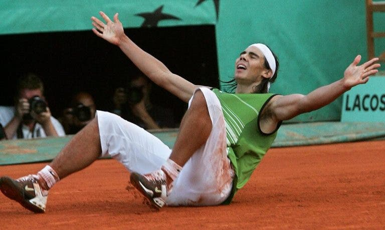 """""""Antes de Roland Garros 2005, Nadal ficaria contente com as meias-finais"""""""