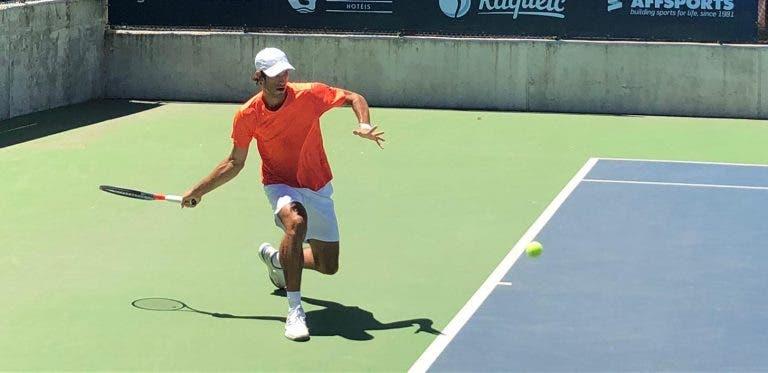 Nuno Borges fecha participação em Antalya como vice-campeão de pares