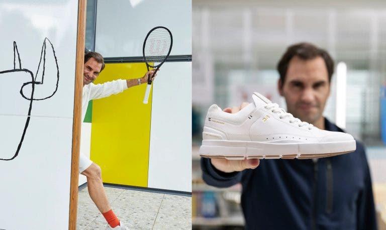 Federer lança novo modelo de sapatilhas numa edição ultralimitada