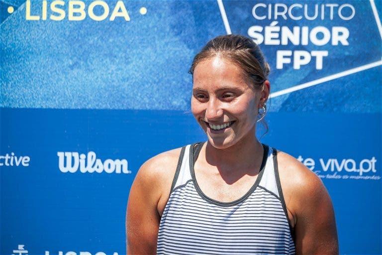 Francisca Jorge devolve Portugal ao top 400 WTA mais de três anos depois