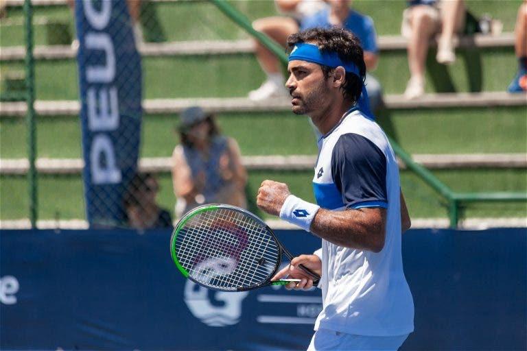Frederico Silva bate brasileiro Menezes e está a um passo do quadro em Roland Garros
