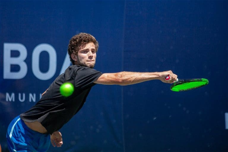 Rodrigues, Faria e Cabral não conseguem qualificação no Porto Open Challenger