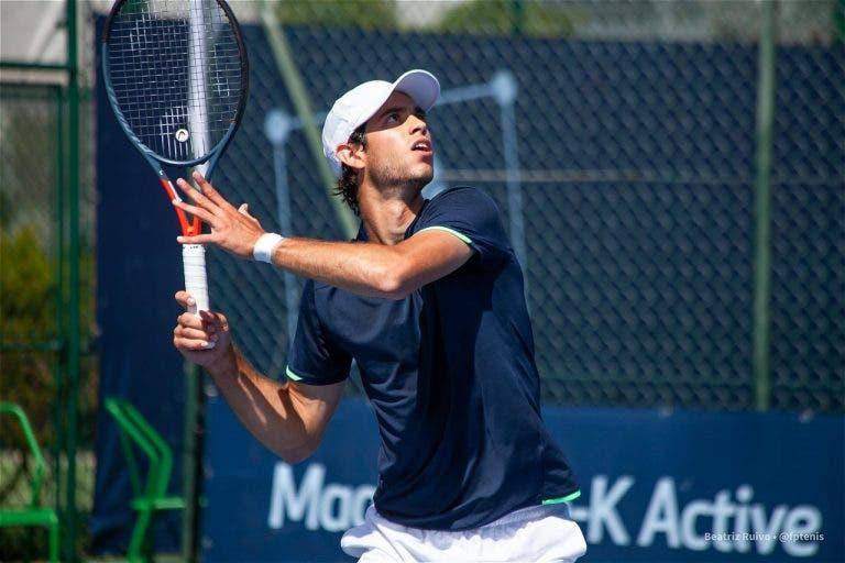 Nuno Borges termina temporada de 2020 com derrota na ronda inaugural do Maia Open