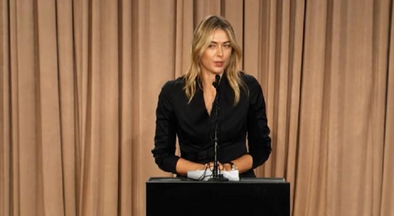 Sharapova: «Não é fácil enfrentar o Mundo e dizer que f… tudo»