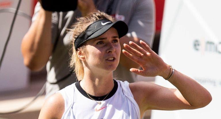 Top 5 mundial Svitolina também não vai marcar presença no US Open