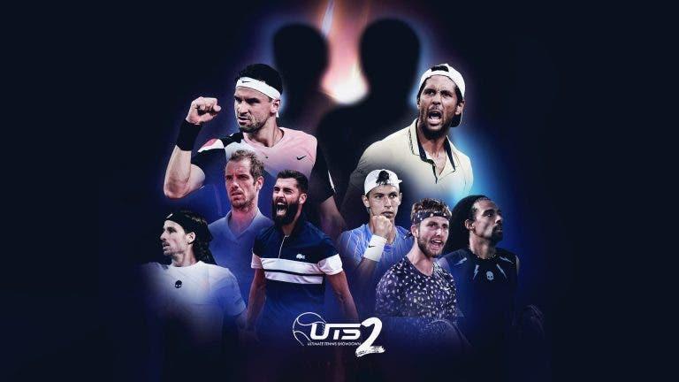 Conheça os grupos da 2.ª edição do Ultimate Tennis Showdown