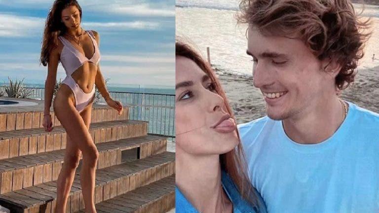 Alexander Zverev está solteiro depois de nove meses com Brenda Patea