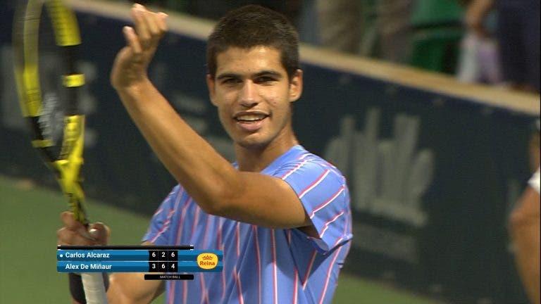 Carlos Alcaraz: tem 17 anos e já derrota top 30 mundiais