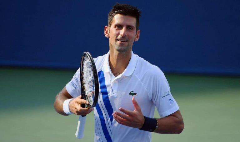 Continua invencível em 2020: Djokovic arrasa Struff e chega às meias-finais em Cincinnati