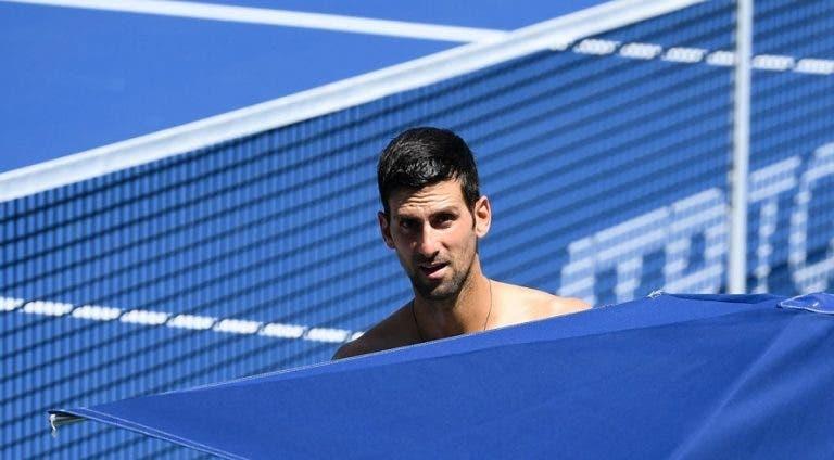 Djokovic lamenta não ter sido consultado sobre pausa de Cincinnati: «Foi um desrespeito»