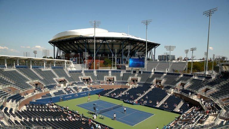US Open vai ter lotação completa… mas qualifying é com as bancadas vazias