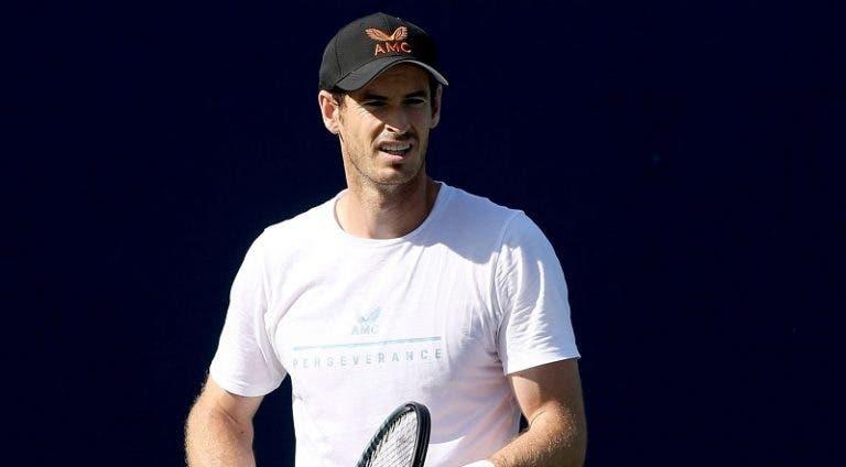 Murray desespera com nova lesão: «Fod*-se, deixa-me respirar de uma vez por todas»