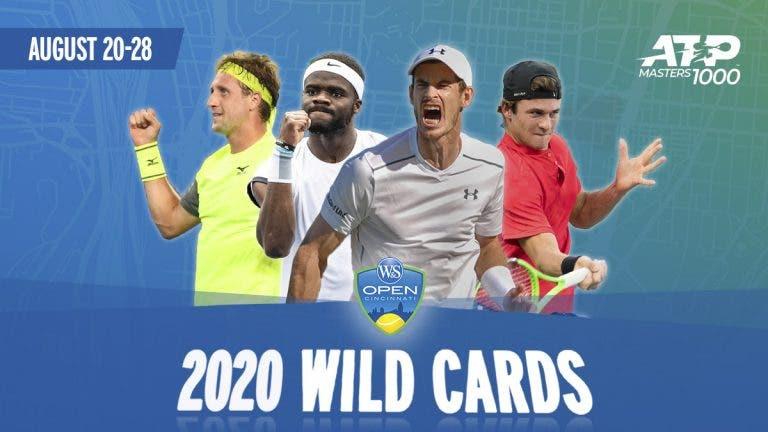 Conheça os wild cards para a edição de 2020 do Masters de Cincinnati