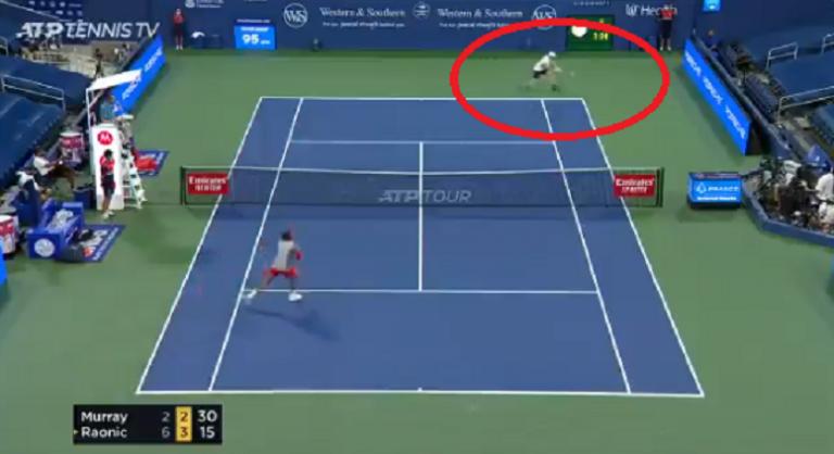 [VÍDEO] Murray levou uma lição de Raonic mas foi dele o melhor ponto