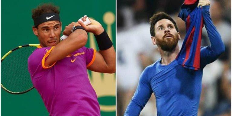 Nadal sai em defesa… de Messi: «Recebe aquilo que estão dispostos a pagar-lhe»