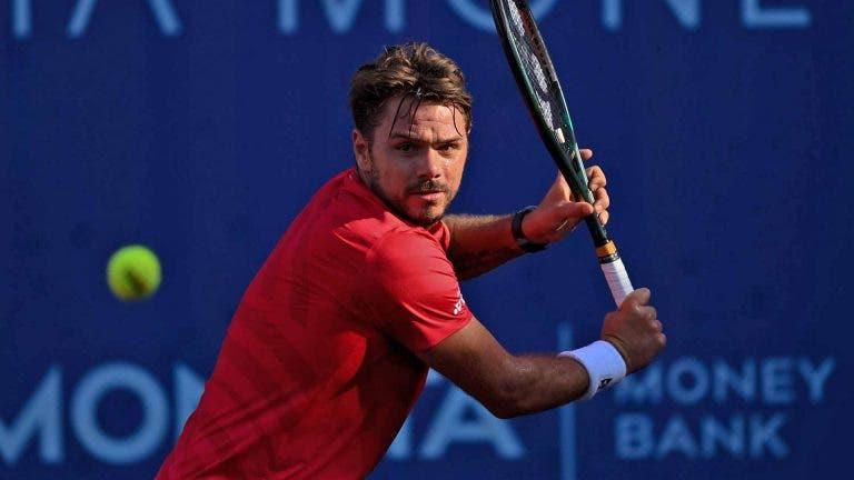Wawrinka cede set para número 402 ATP mas garante lugar na final do Challenger de Praga