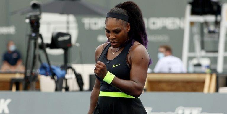 Serena resiste à sua irmã Venus em encontro fabuloso rumo aos 'quartos' em Lexington