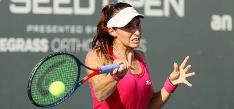 Brasileira Luísa Stefani fica pelos 'quartos' no US Open