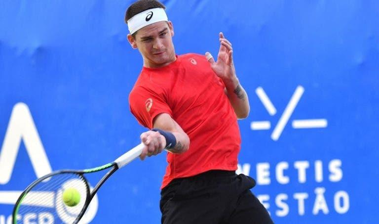 """Wild viajou para o US Open, vai estrear-se em Grand Slams e quer """"avançar umas rondas"""""""