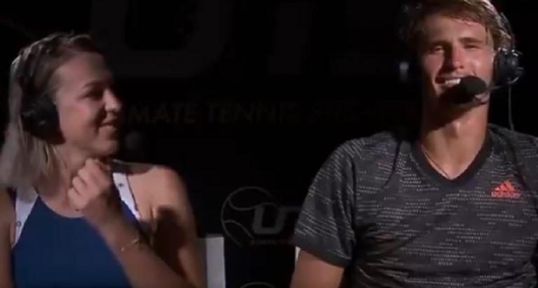 [VÍDEO] Zverev convidado a rugir depois de ganhar UTS: «Ainda não estou bêbedo!»