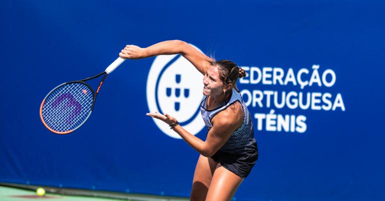 Francisca Jorge consegue melhor vitória da carreira rumo aos 'quartos' no Porto Open