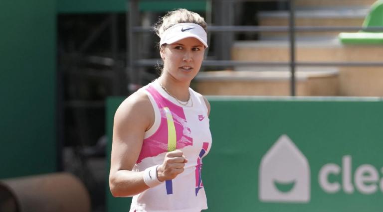 Genie Bouchard regressa a uma final de WTA mais de quatro anos depois