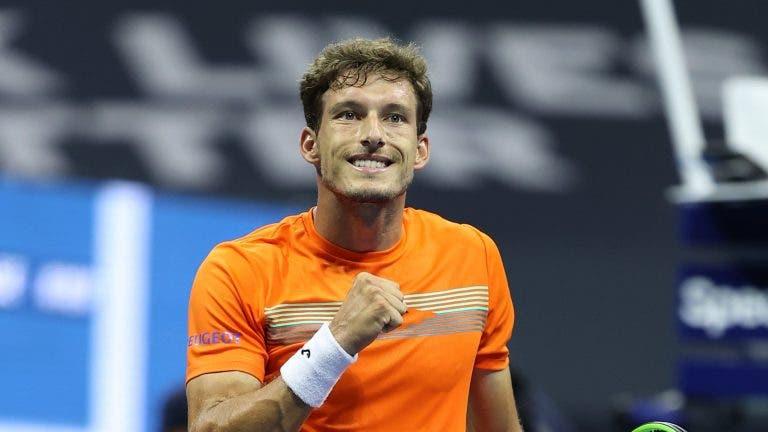 Carreno-Busta: «Federer, Nadal e Djokovic têm sido umas autênticas 'bestas'»