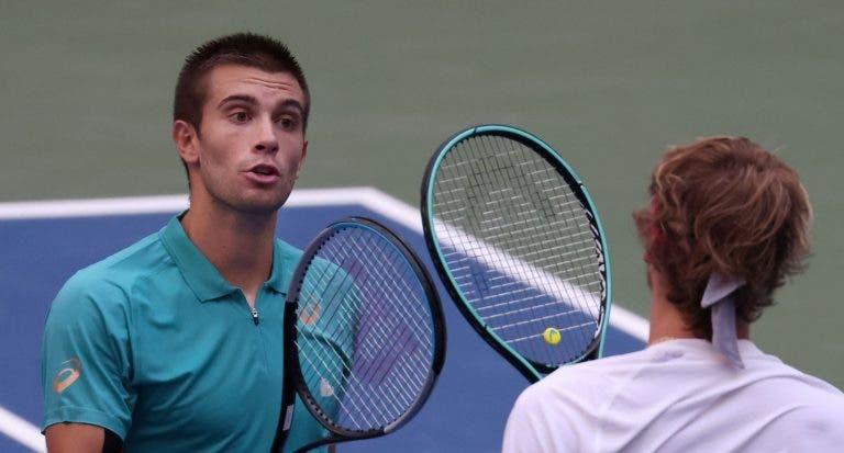 Zverev e Coric mostram desportivismo nas redes sociais após encontro