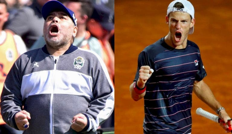 Schwartzman surpreendido… por Maradona após passar à final em Roma